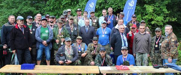 Zawody Wędkarskie o Puchar Starosty Kętrzyńskiego na Kanale Mazurskim