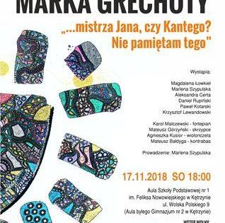 Koncert pamięci Marka Grechuty