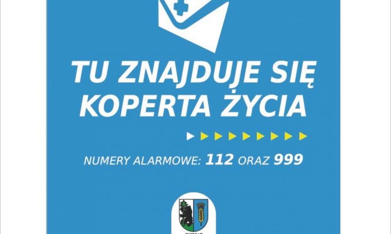 """Akcja """"Koperta Życia"""" już wkrótce w Powiecie Kętrzyńskim"""