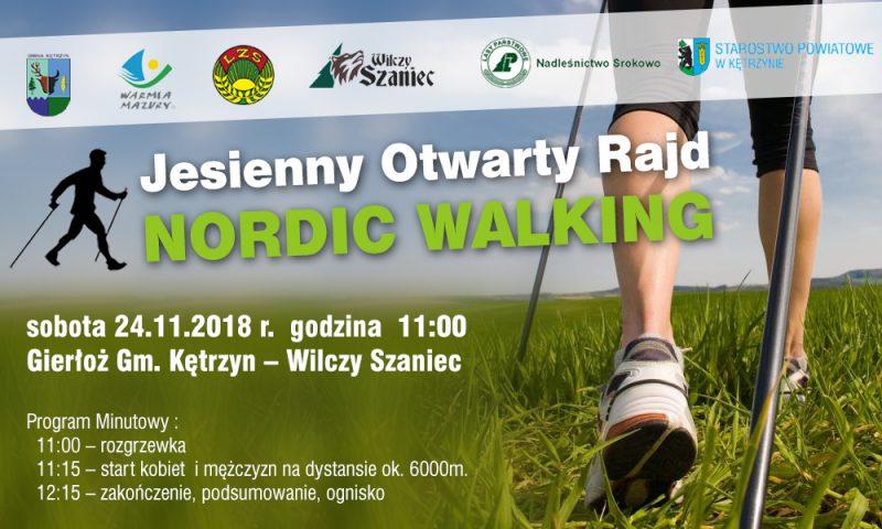 Jesienny Otwarty Rajd  Nordic Walking