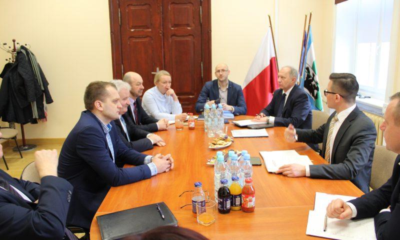 Spotkanie Starosty z Burmistrzami i Wójtami Powiatu Kętrzyńskiego