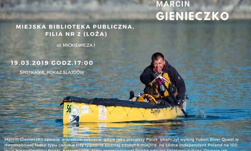 Spotkanie z Marcinem Gienieczko