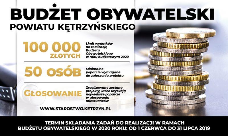 Rozpoczynamy realizację Budżetu Obywatelskiego