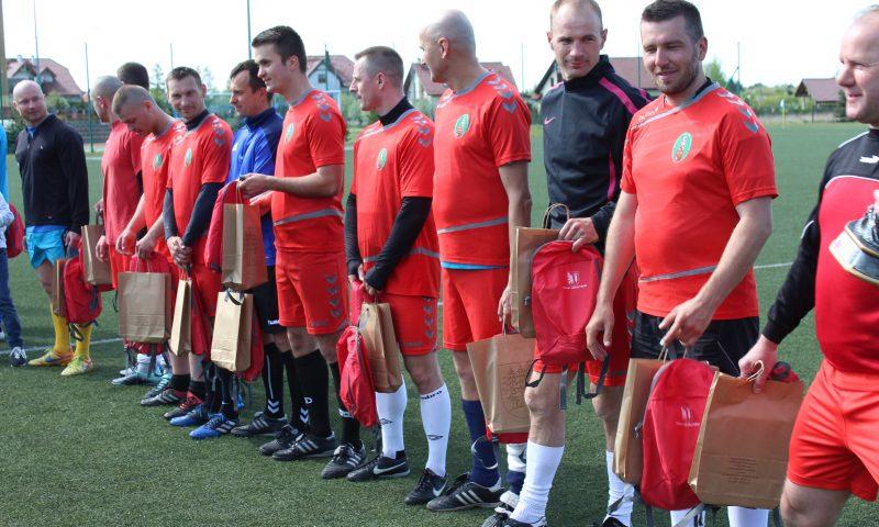 Mecz piłki nożnej z okazji 15-lecia wstąpienia Polski do Unii Europejskiej