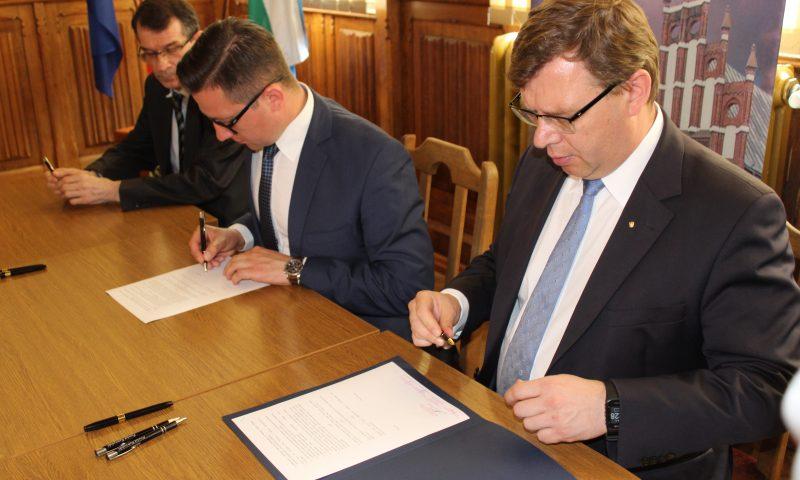 Umowa na dofinansowanie drogi powiatowej 1713N Mołtajny-Barciany