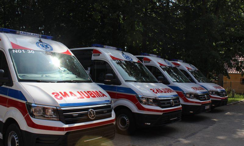 Nowe ambulanse przekazane dla Szpitala Powiatowego w Kętrzynie