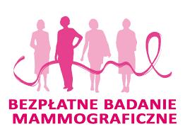 Bezpłatne badania mammograficzne                  już 17 lipca!
