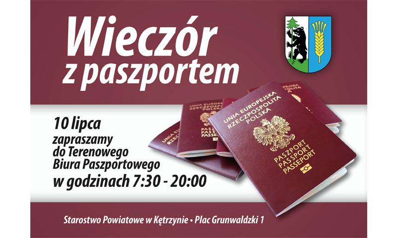 """Zapraszamy na """"Wieczór z paszportem"""""""