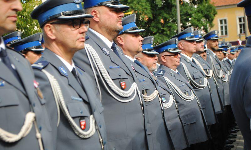 Wojewódzkie Obchody Święta Policji w Kętrzynie
