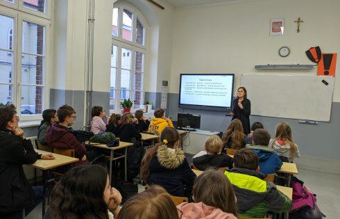 Działania promocyjne szkół powiatu kętrzyńskiego przez doradcę zawodowego