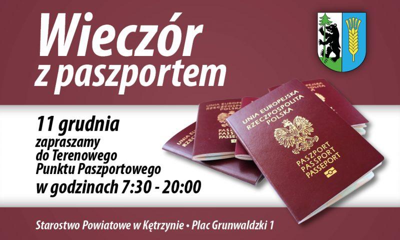 """""""Wieczór z Paszportem"""" już 11 grudnia"""