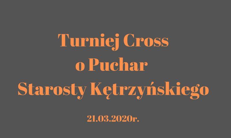 Turniej Cross o puchar Starosty Kętrzyńskiego – zapraszamy do zapisów!
