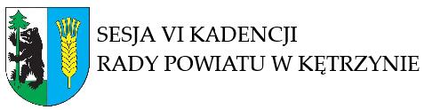 Informacja o XXII sesji VI kadencji Rady Powiatu w Kętrzynie