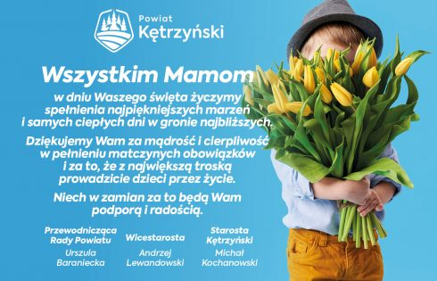Życzenia z okazji Dnia Matki– 26 maja 2020 r.
