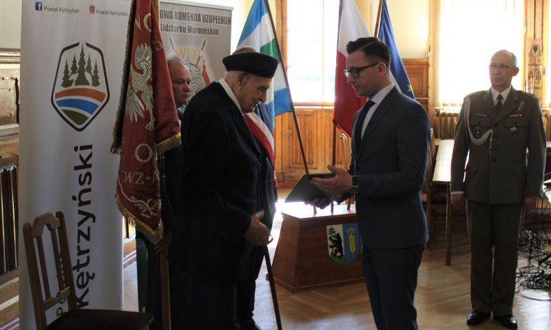 Weteran Armii Krajowej mianowany na stopień kapitana