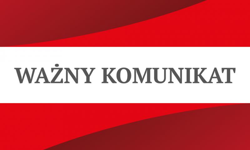Komunikat nt. zakażeń koronawirusem SARS-CoV-2 w powiecie kętrzyńskim