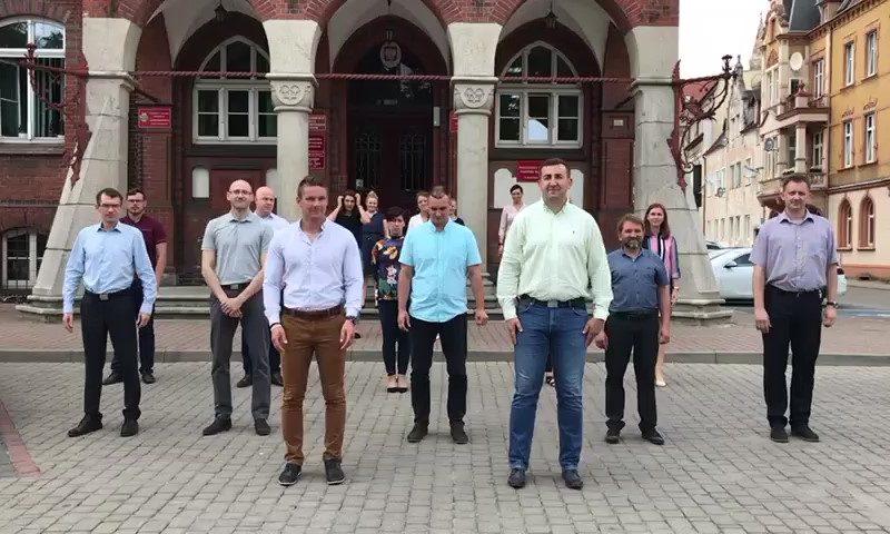 Starostwo Powiatowe w Kętrzynie przyjęło wyzwanie #GaszynChallenge