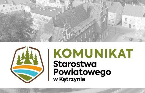 Komunikat ws. nieobecności Powiatowego Rzecznika Praw Konsumenta