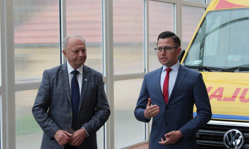 Szpital Powiatowy w Kętrzynie wzbogacił się o nowy ambulans