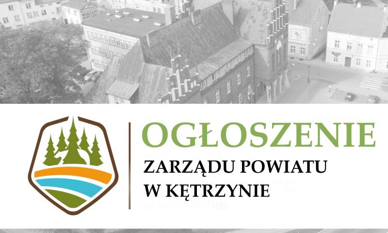 Zarząd Powiatu ogłasza przetarg ustny nieograniczony na sprzedaż nieruchomości gruntowej