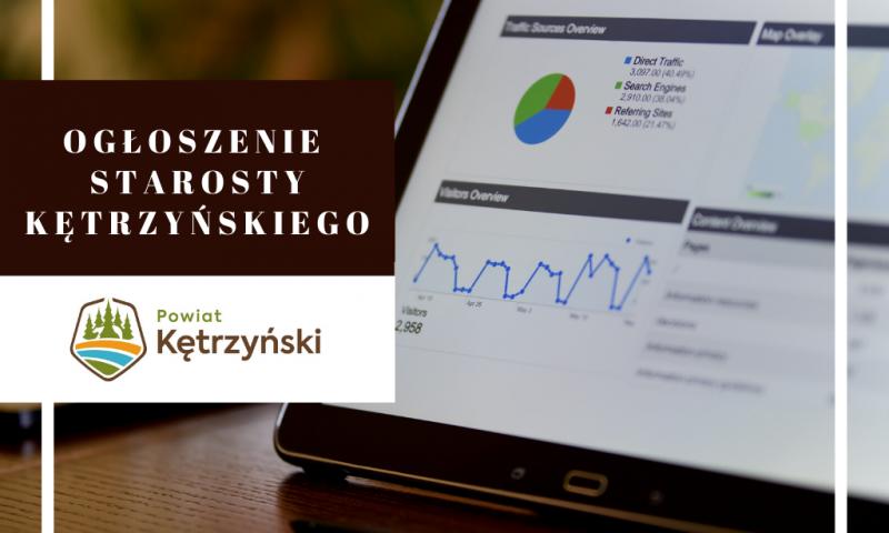 Ogłoszenie starosty kętrzyńskiego o planowanym rozpoczęciu konsultacji społecznych