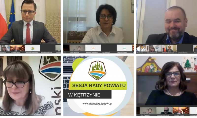 XXIX Sesja Rady Powiatu w Kętrzynie