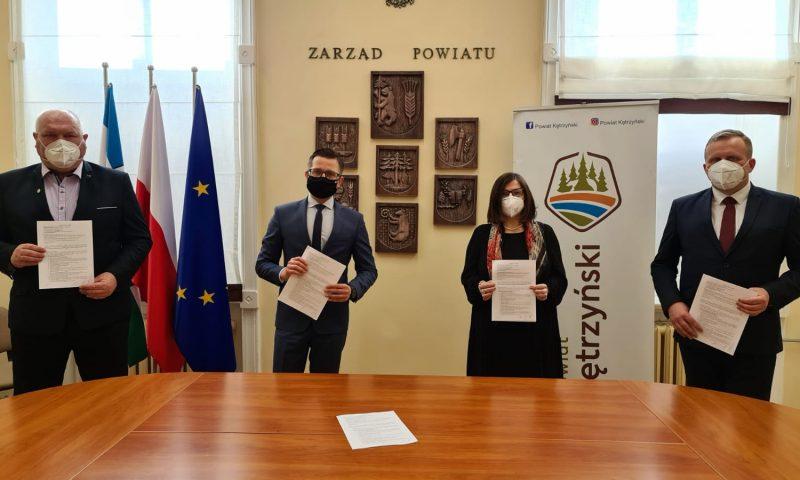 Kolejne inwestycje drogowe na terenie powiatu kętrzyńskiego