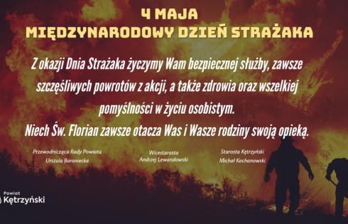 Życzenia z okazji Dnia Strażaka