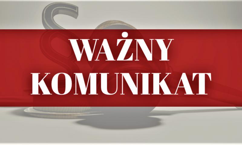 Komunikat starosty kętrzyńskiego z zakresu nieodpłatnej pomocy prawnej oraz nieodpłatnego poradnictwa obywatelskiego