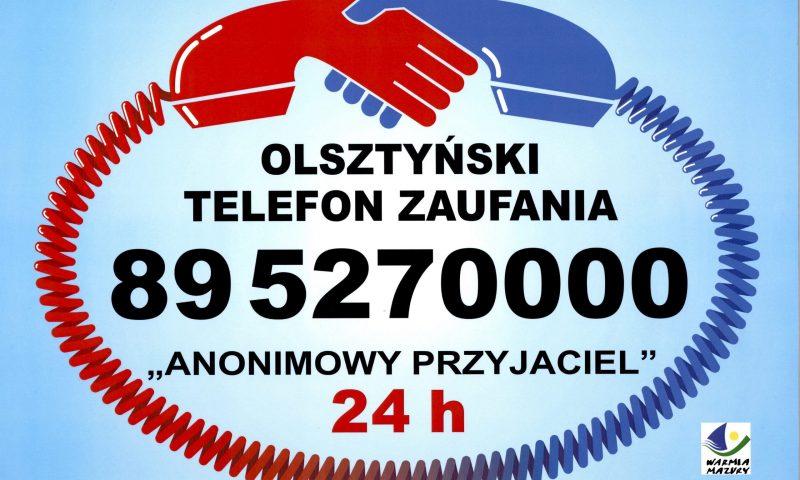 """Olsztyński Telefon Zaufania """"Anonimowy Przyjaciel"""""""