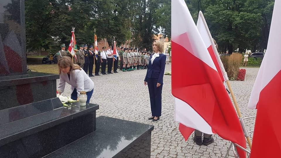 Zdjęcie przedstawia przewodniczącą Rady Powiatu Urszulę Baraniecką i sekretarz Joannę Mazurowską