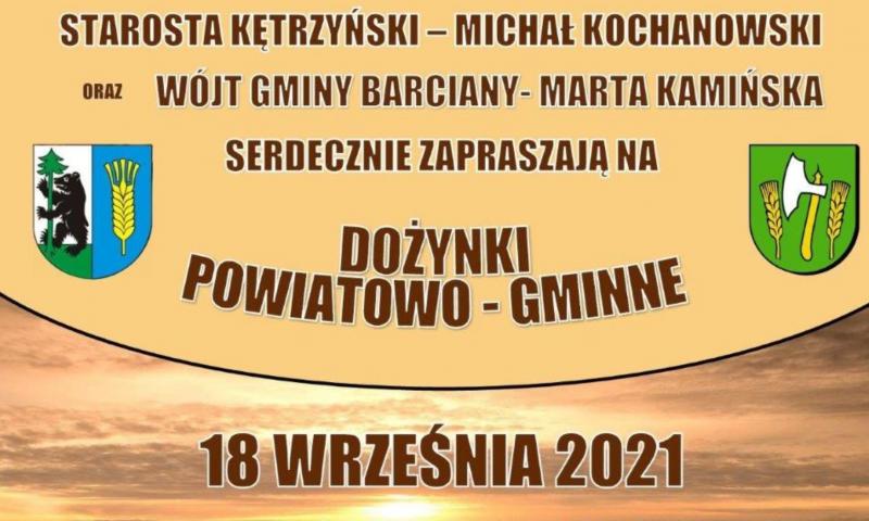 Powiatowo-Gminne Dożynki w Barcianach