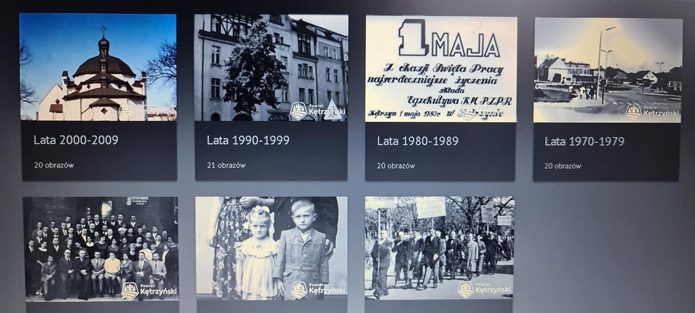Zdjęcie przedstawia fotografie z archiwum