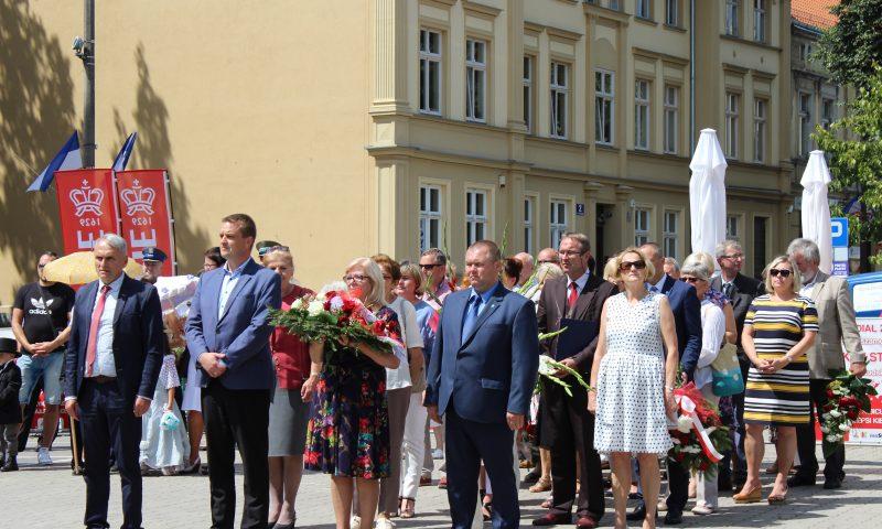 180 urodziny  patrona miasta Wojciecha Kętrzyńskiego.