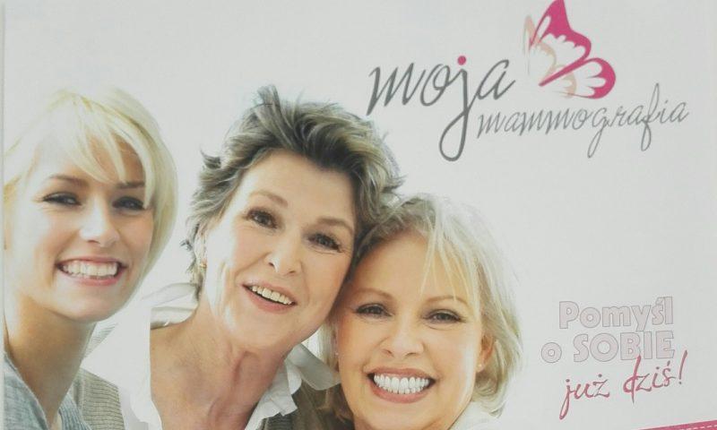Zapraszamy na bezpłatne badanie mammograficzne