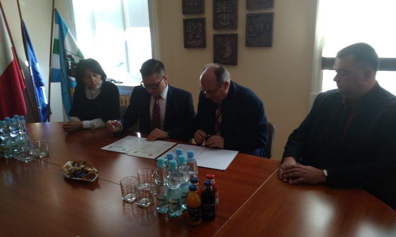 Podpisanie planu współpracy na 2019 r. z partnerami z Prawdinska