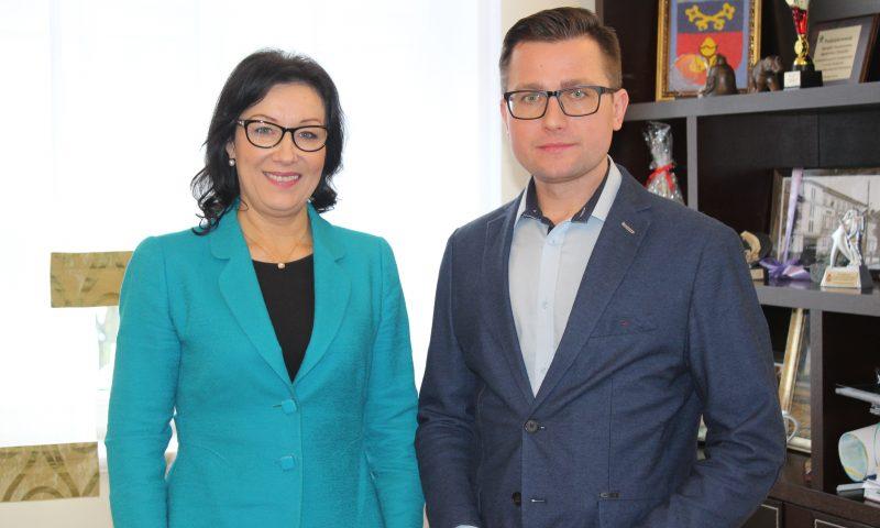 Wizyta Senator RP Małgorzaty Kopiczko w Starostwie Powiatowym w Kętrzynie
