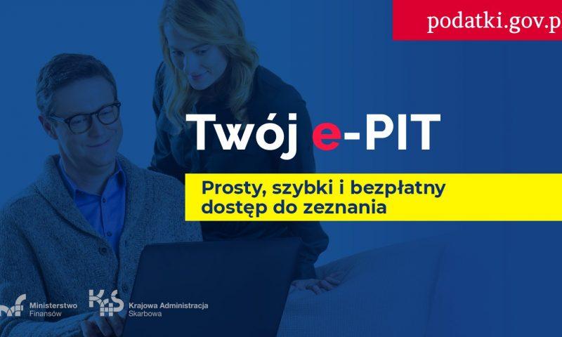 Twój e-PIT już od 15 lutego!