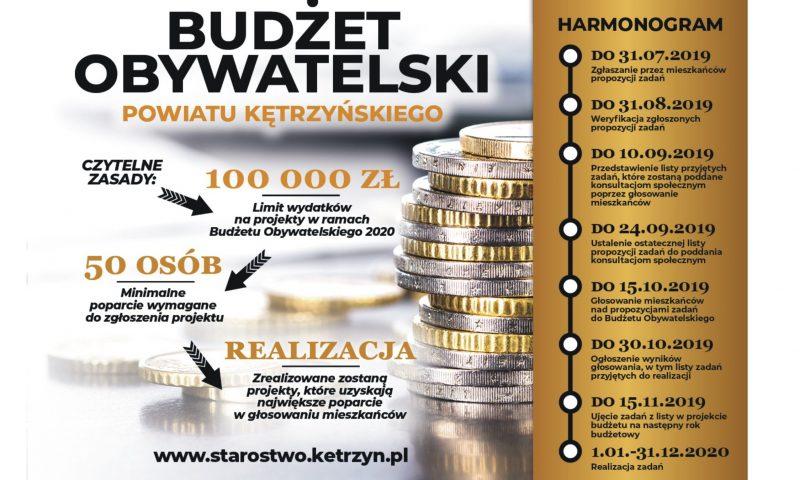 Budżet Obywatelski    Powiatu Kętrzyńskiego