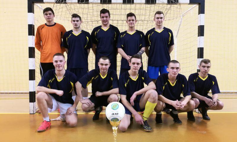 PCE Mistrzami Regionu w Halowej Piłce Nożnej