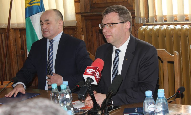 Spotkanie z Arturem Chojeckim Wojewodą Warmińsko-Mazurskim