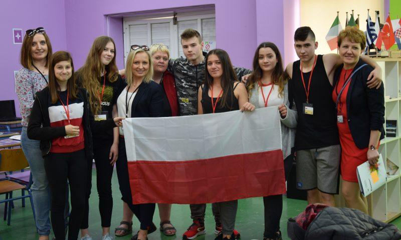 Międzynarodowe spotkania w Chorwacji i Grecji w ramach projektu Erasmus plus realizowanego w Zespole Szkół im. Macieja Rataja w Reszlu
