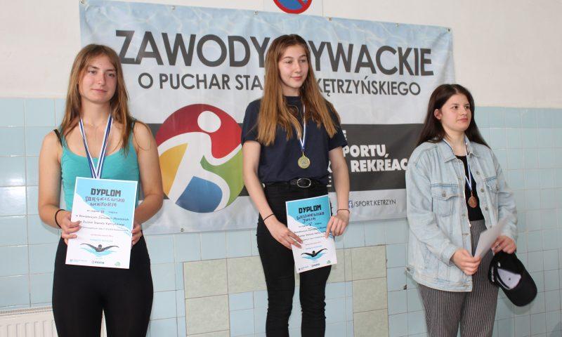 Zawody Pływackie o Puchar Starosty Kętrzyńskiego