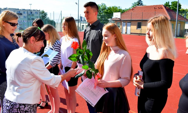 Zakończenie roku szkolnego 2018/2019 w Zespole Szkół im. Marii Curie Skłodowskiej w Kętrzynie