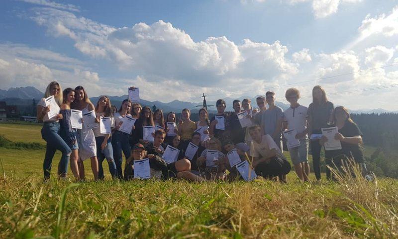 Wymiana młodzieży                     w Murzasichlu