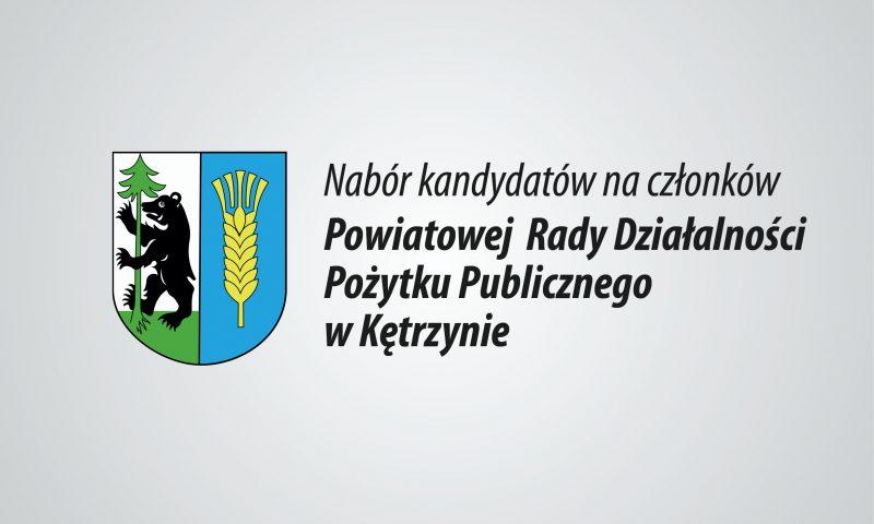 Zapraszamy do głosowania – Trwa nabór na członków Powiatowej Rady Działalności Pożytku Publicznego w Kętrzynie