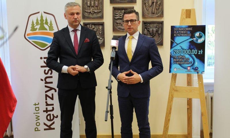 Kolejne środki finansowe pozyskane przez Powiat Kętrzyński