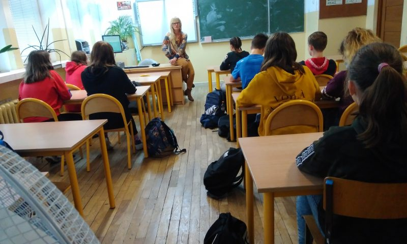Prezentacja szkół ponadpodstawowych powiatu kętrzyńskiego przez doradców zawodowych