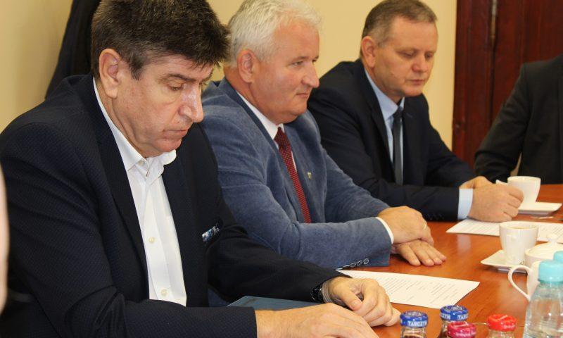 Spotkanie z przedstawicielami gmin z powiatu kętrzyńskiego