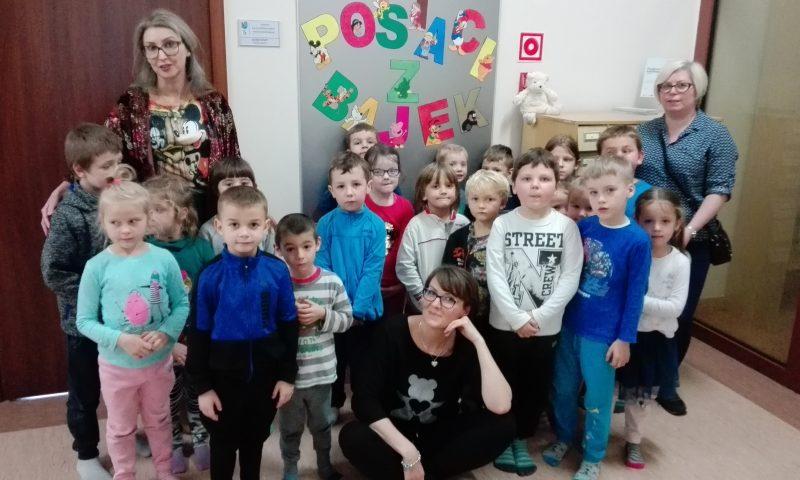 Międzynarodowy Dzień Postaci z Bajek w Centrum Biblioteczno-Kulturalnym Powiatu Kętrzyńskiego